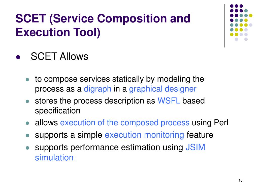 SCET (Service Composition and