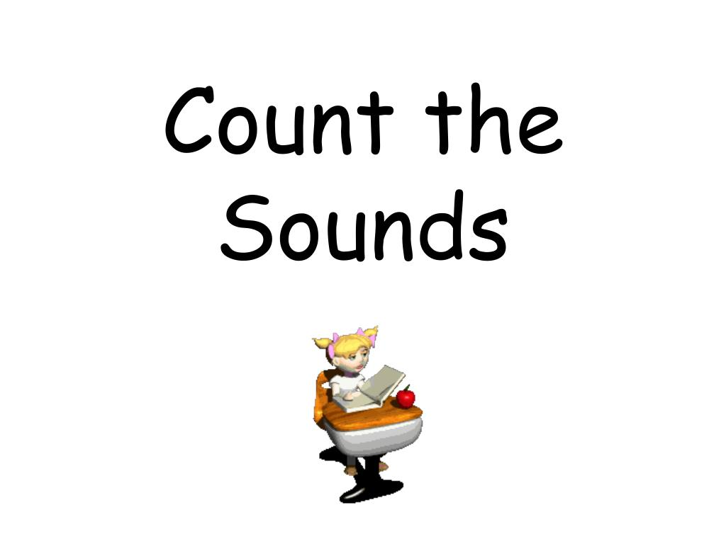 count the sounds l.