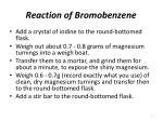 reaction of bromobenzene