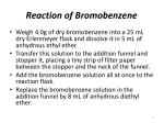 reaction of bromobenzene6