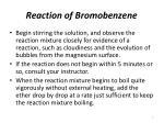 reaction of bromobenzene7
