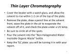 thin layer chromatography15