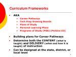 curriculum frameworks