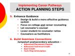 implementing career pathways action planning steps28