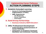 implementing career pathways action planning steps29