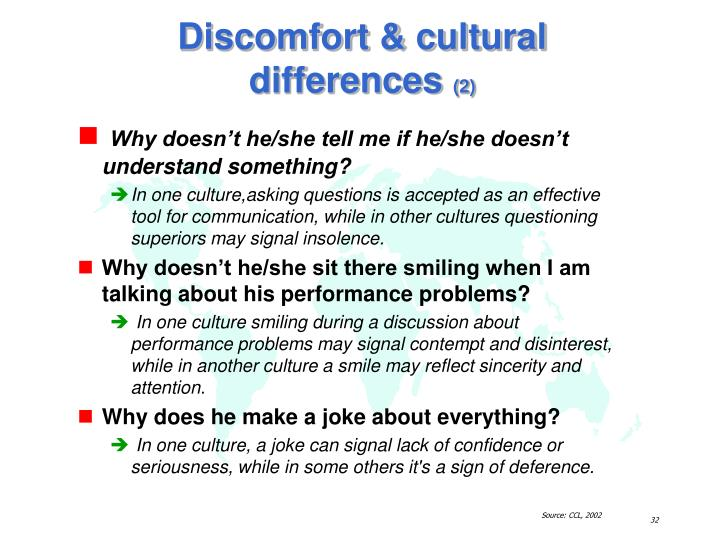 intercultural differences Intercultural communication in the global workplace by bisk  the importance of intercultural communication  just as in any group, there are differences among individuals, and understanding general distinctions within a cultural group is important do.