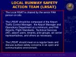 local runway safety action team lrsat