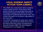 local runway safety action team lrsat8
