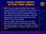 local runway safety action team lrsat9