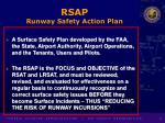rsap runway safety action plan