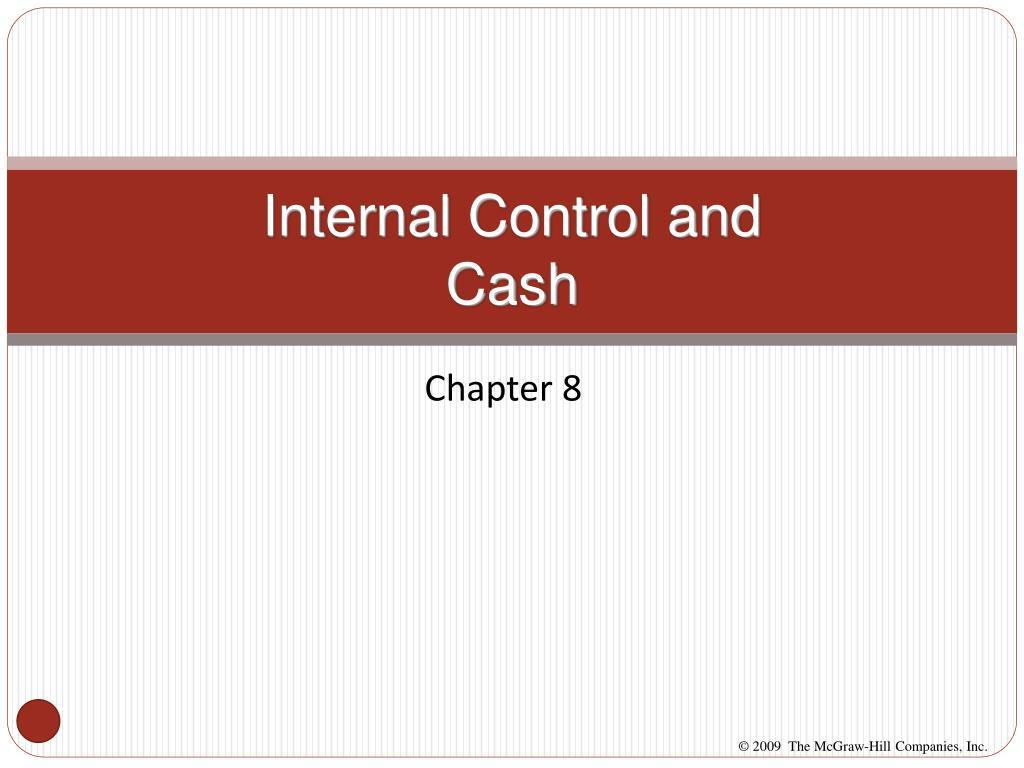 internal control and cash l.