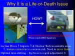 why it is a life or death issue