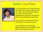 author lucy floyd