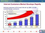 internet customers market develops rapidly