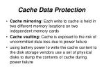 cache data protection