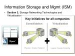 information storage and mgmt ism1