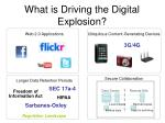 what is driving the digital explosion