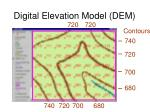 digital elevation model dem