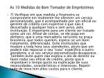 as 10 medidas do bom tomador de empr stimos13
