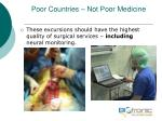 poor countries not poor medicine