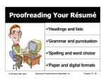 proofreading your r sum