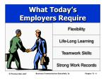 what today s employers require