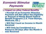 economic stimulus payments14