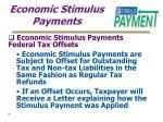 economic stimulus payments16