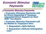 economic stimulus payments17
