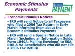 economic stimulus payments18