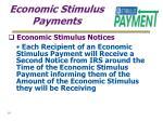 economic stimulus payments19