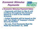 economic stimulus payments21
