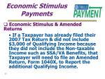 economic stimulus payments23