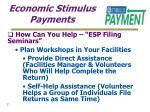 economic stimulus payments27