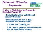 economic stimulus payments3