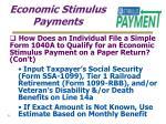 economic stimulus payments31