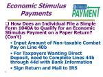 economic stimulus payments32