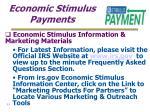 economic stimulus payments33
