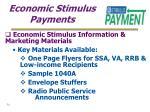 economic stimulus payments34