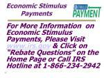economic stimulus payments35