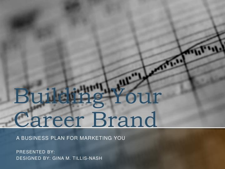 building your career brand n.