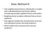 data method iii