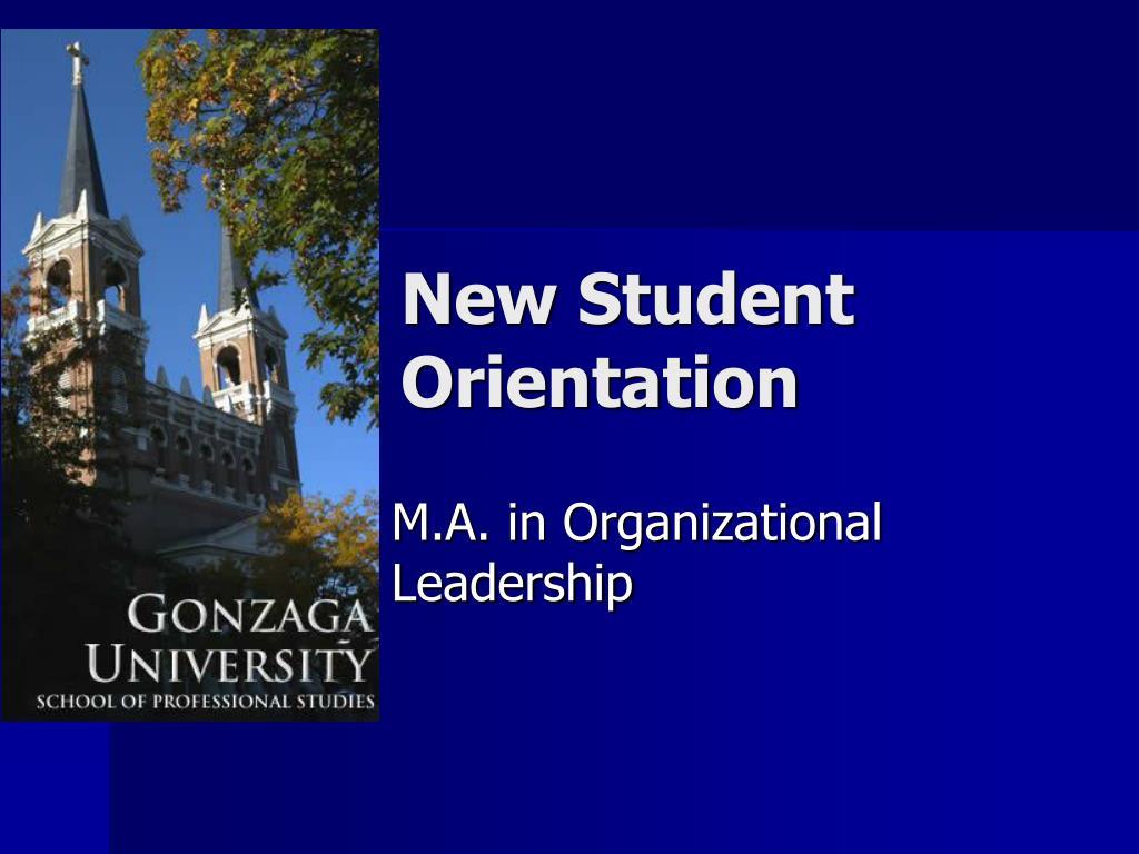 new student orientation l.