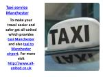 t axi service manchester
