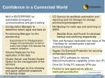 confidence in a connected world
