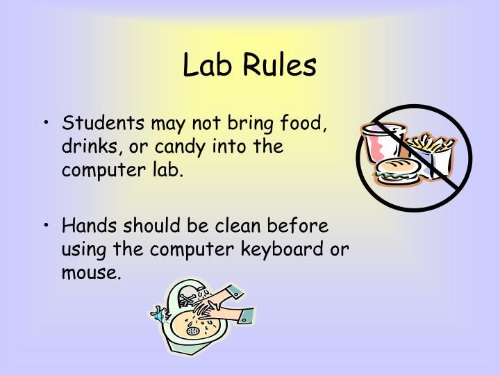 lab rules
