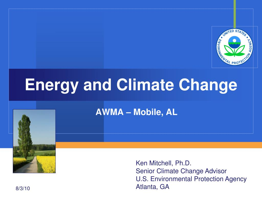 energy and climate change l.