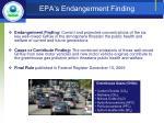 epa s endangerment finding