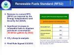 renewable fuels standard rfs2