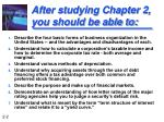 after studying chapter 2 you should be able to